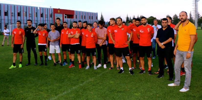 Eskişehirspor'da futbolcular antrenmana çıkmadı!