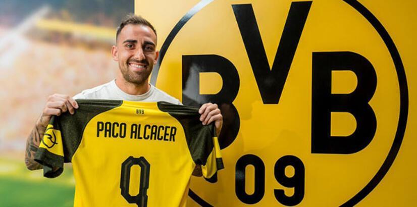 Alcacer, Borussia Dortmund'da!