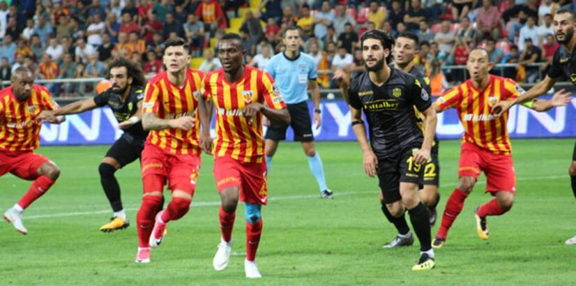 Kayserispor - Evkur Yeni Malatyaspor: 0-0