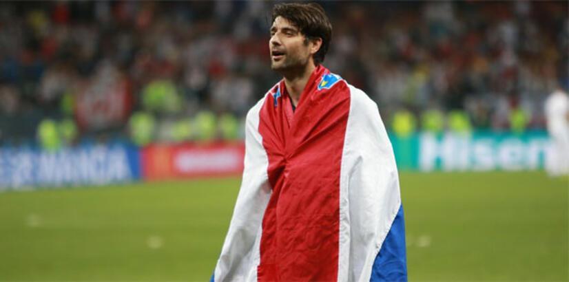 Hırvat oyuncu Corluka, milli formaya veda etti
