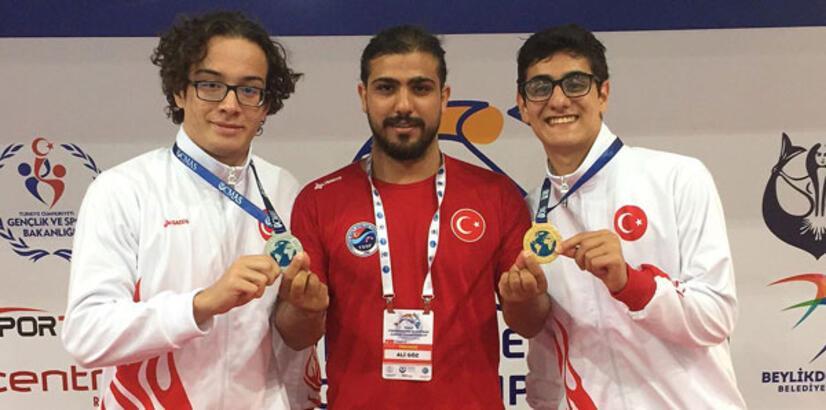 Türk sporcular 3 madalya kazandı!