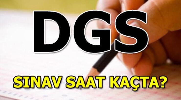 DGS sınavında kaç soru sorulacak? DGS sınav giriş belgeleri