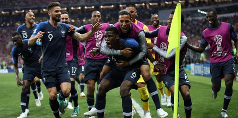 Fransa - Hırvatistan: 4-2