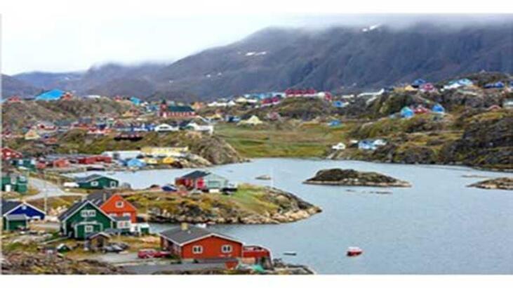 Kuzey Isiklari Ile Unlu Buzdan Bir Ada Gronland Gundem Haberleri
