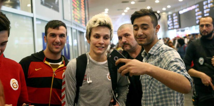 Eurocup şampiyonu Galatasaray İstanbul'da