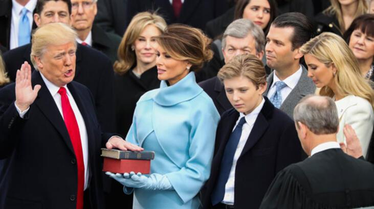 Son dakika: ABD'de yeni dönem başlıyor! Başkan Trump göreve başladı