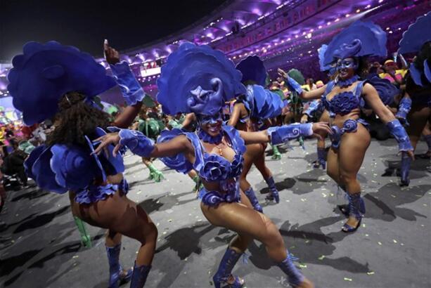 Rio Olimpiyatları'na muhteşem açılış