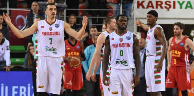 Pınar Karşıyaka Dörtlü Final'e kalma peşinde