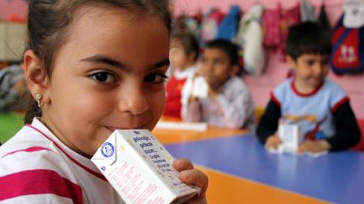 Okul sütü projesi skandalla başladı