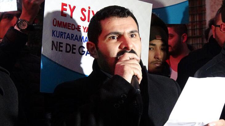 Bursa'da Ulu Cami'de namaz sonrası 'Kudüs' protestosu