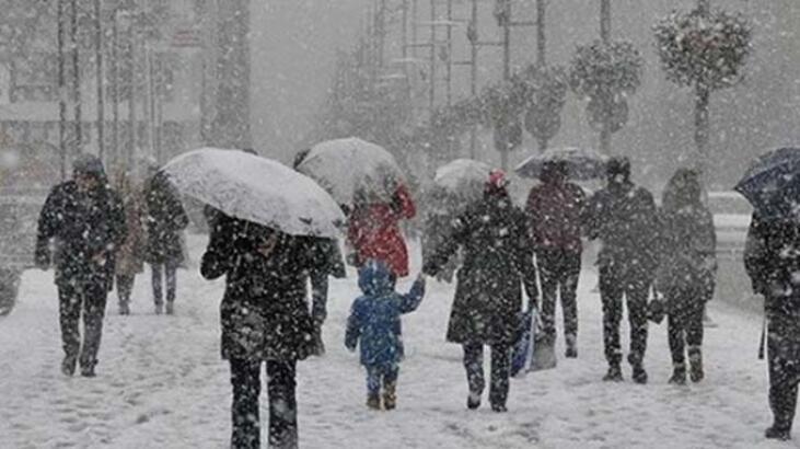 Son dakika: Trakya'ya hafta sonu kar bekleniyor