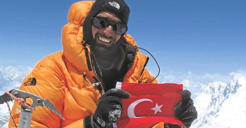 Dünyanın çatısında bir Türk!