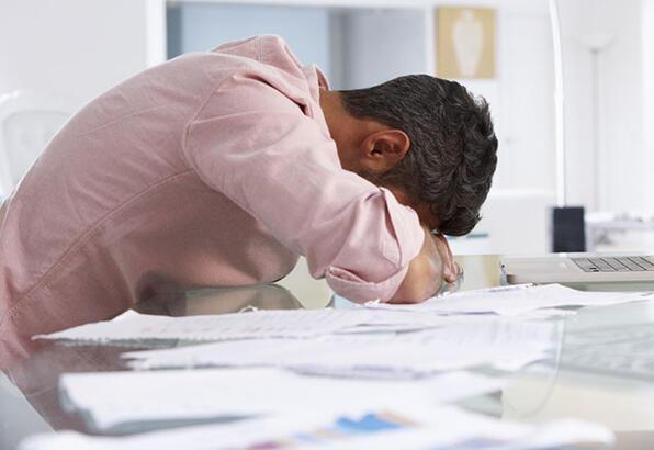 Yoğun stres sizi hasta edebilir