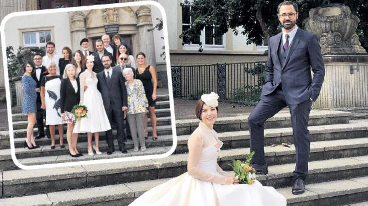 Can'ıyla evlendi