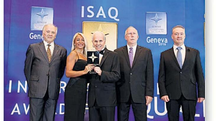 Galileo Galilei'ye  Dünya Kalite Ödülü