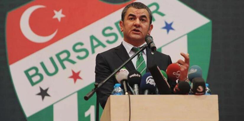 Bursaspor'da yeni başkan Erkan Körüstan
