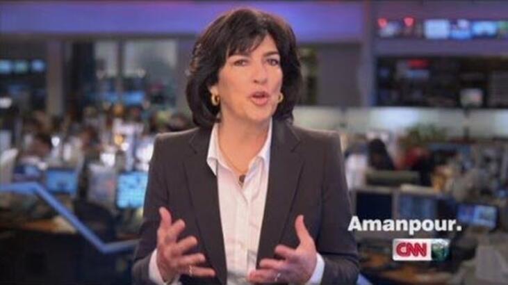 Takvim Amanpour'u çıldırttı