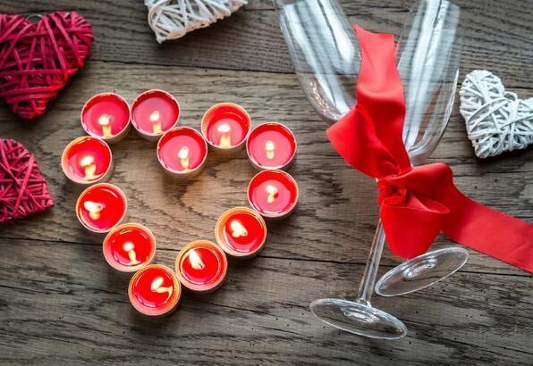 Sevgililer Günü için dekorasyon önerileri