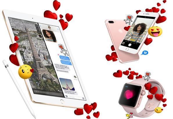 Sevgililer Günü'nü Apple ile daha özel hale getirin