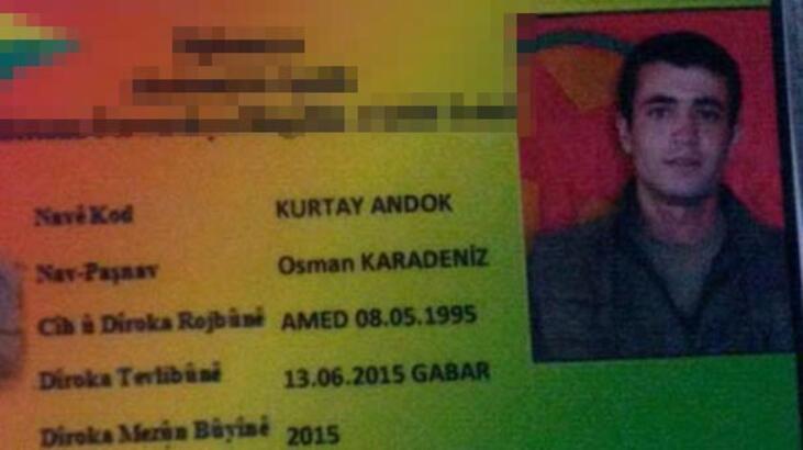 PKK gizledi mi? Firardan 1 gün sonra terör örgütü kimliği