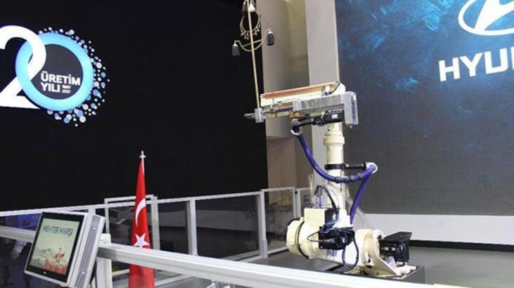 İstanbul Autoshow'da robot şov!