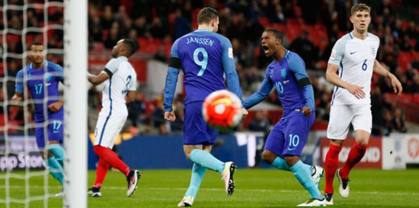 İngiltere - Hollanda: 1-2