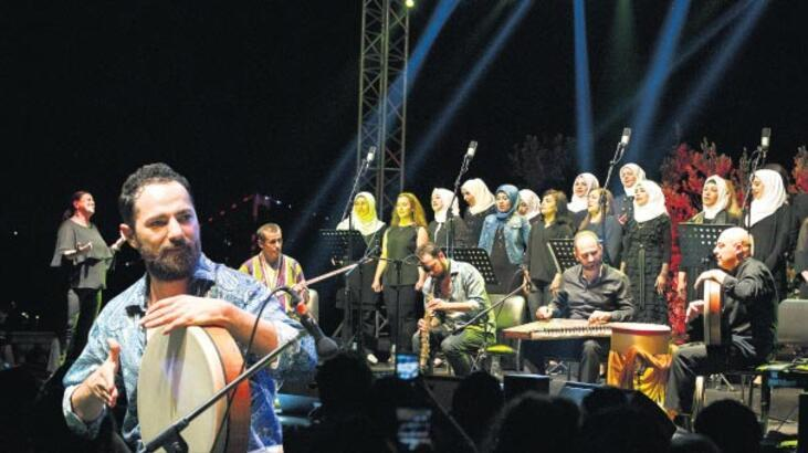 Festival Suriye'den seslerle sona erdi