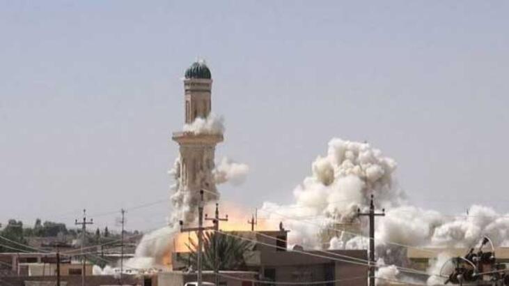 IŞİD yine cami ve türbe bombaladı