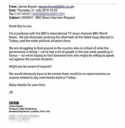 BBC'den akılalmaz küstahlık!