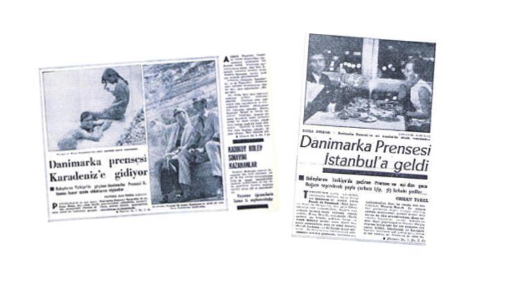 Kraliçe'ye Milliyet gazetesi