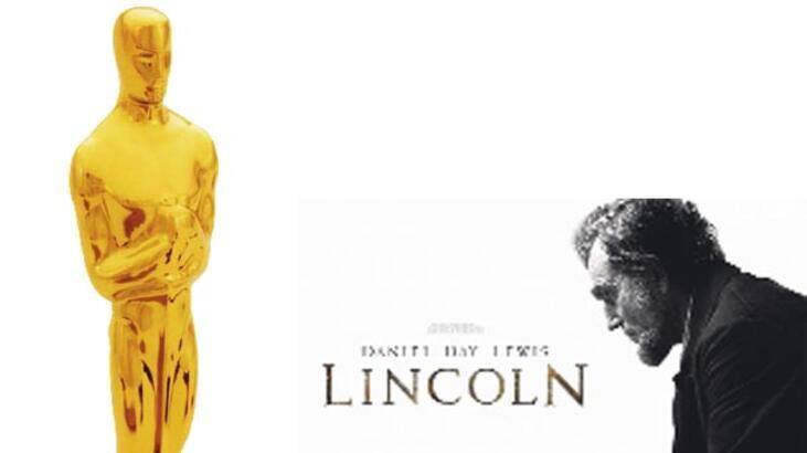 'Lincoln' Oscar adaylarının gözdesi