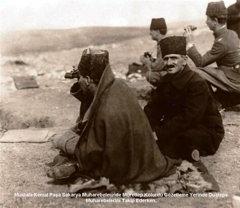 Sakarya Meydan Muharebesi'ne özel kareler