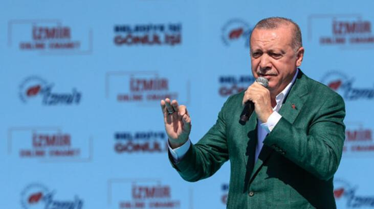 Cumhurbaşkanı Erdoğan 41 günde 44 ilde miting yaptı