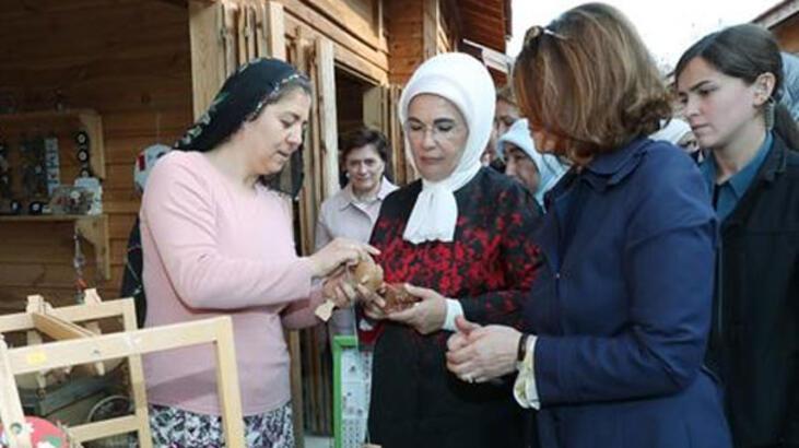Emine Erdoğan, Anadolu Açık Hava Müzesi'ni ziyaret etti