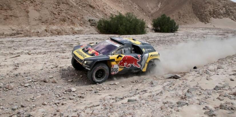 Dakar'da 5. etebı Loeb kazandı!