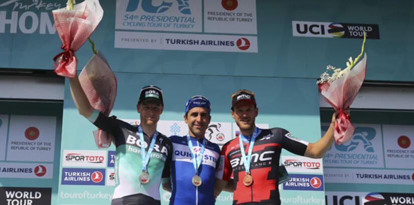 54. Cumhurbaşkanlığı Bisiklet Turu ilk etabını Richeze kazandı