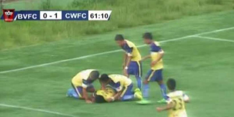 Gol sevinci sırasında hayatını kaybetti!