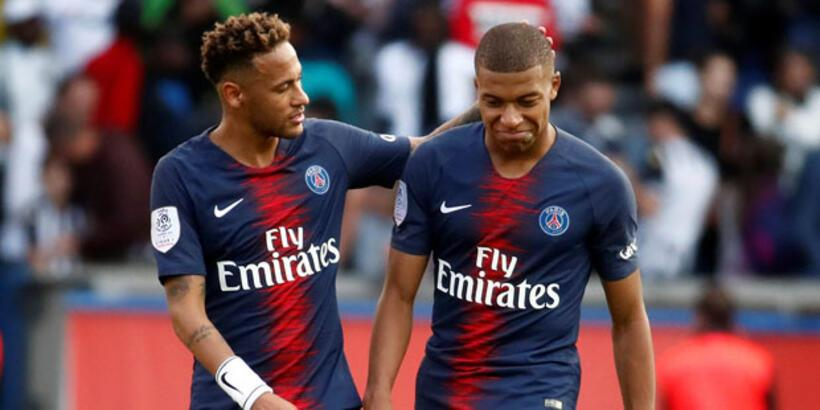 PSG'de Neymar ve Mbappe şoku!