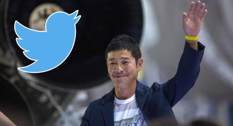 Japon milyarder Twitter'da retweet rekoru kırdı: 4 milyon RT