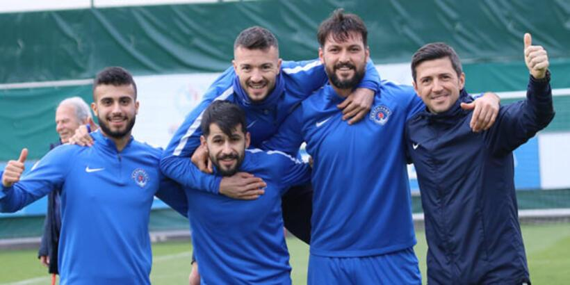 Kasımpaşa'da Medipol Başakşehir maçı hazırlıkları