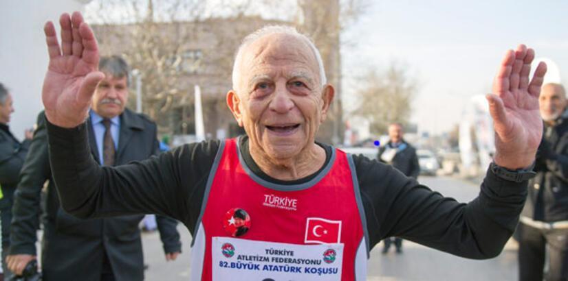 Türkiye'nin en yaşlı atleti Erdoğan Dulda vefat etti