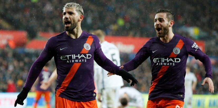 Manchester City'den müthiş geri dönüş!