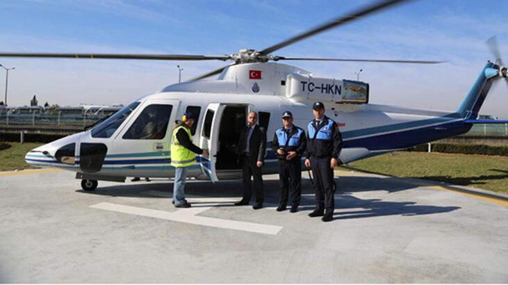 İBB açık artırma ile helikopter satacak