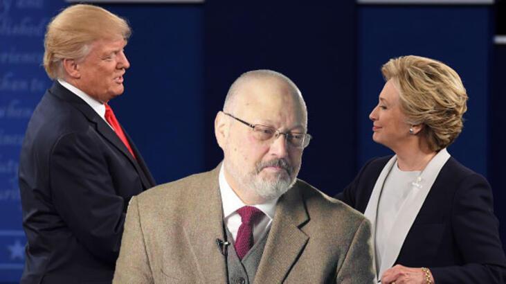 Clinton'dan çok konuşulacak açıklama: Trump, Kaşıkçı örtbasının bir parçası