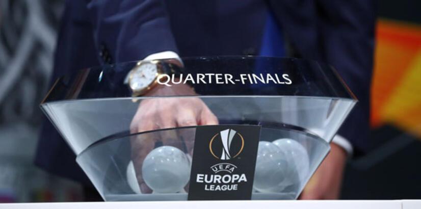 UEFA Avrupa Ligi'nde çeyrek final ve yarı final kuraları çekildi
