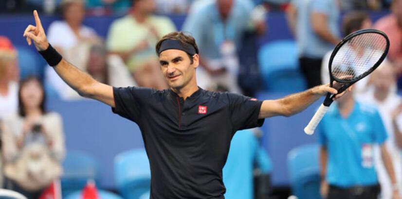 Federer 2019'a süper başladı