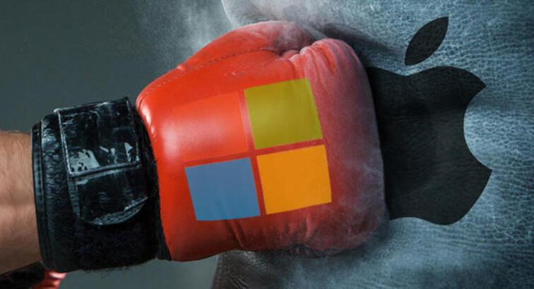 Microsoft, Apple'ı kısa sürede nasıl tahtından ettiklerini açıkladı