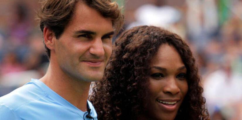 Federer'in rakibi Serena!