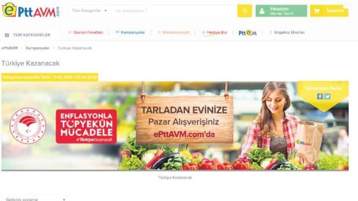 Türkiye'nin her yerinden sanal tanzim alışverişi