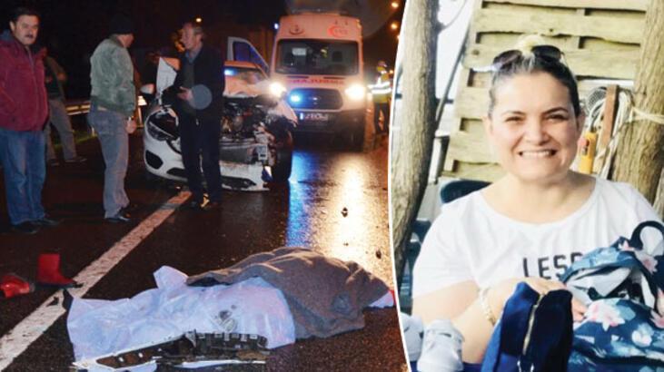 Ordu'da feci kaza! Genç kadın olay yerinde hayatını kaybetti